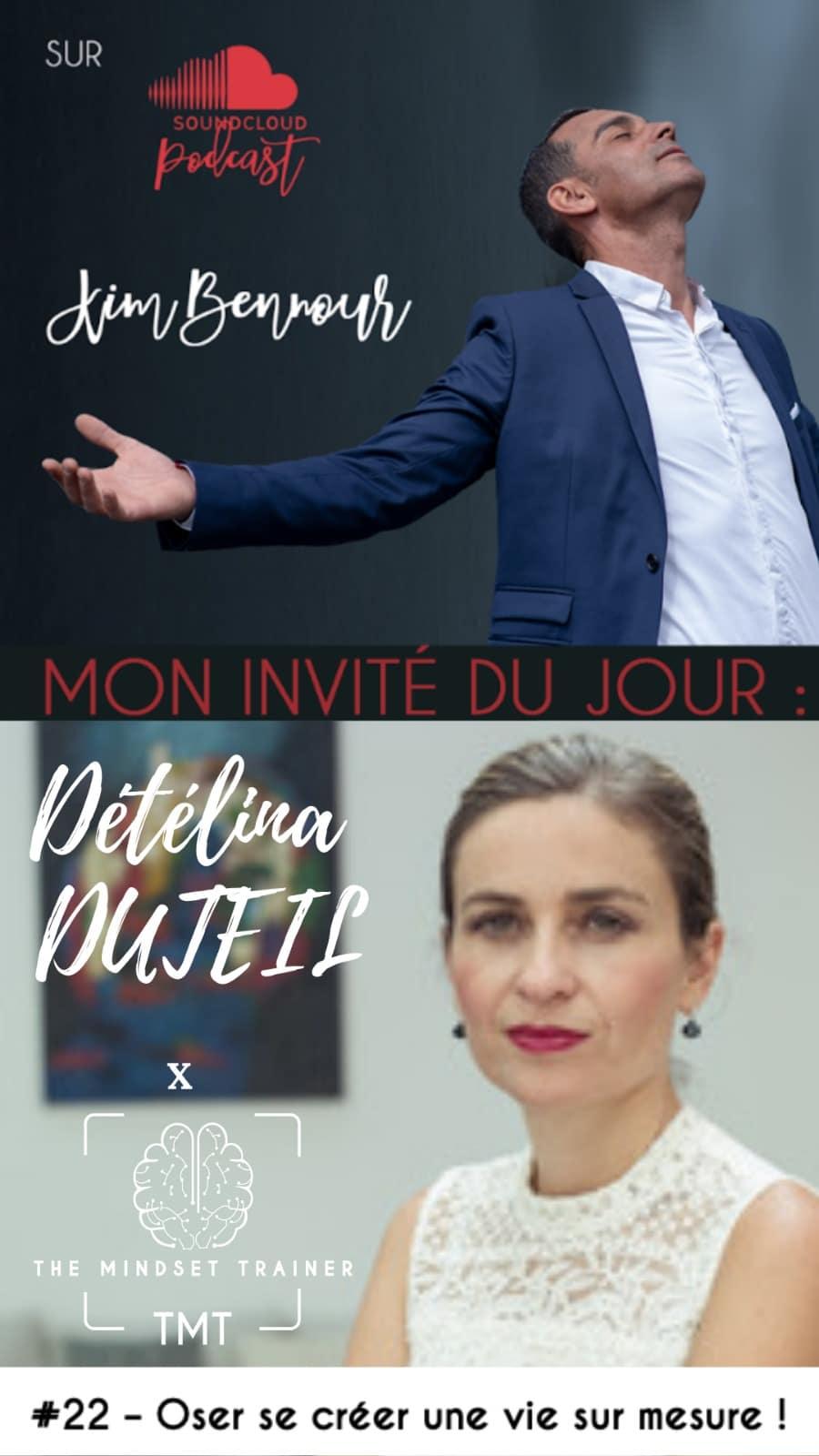 Podcast Kim Bennour/Détélina Duteil