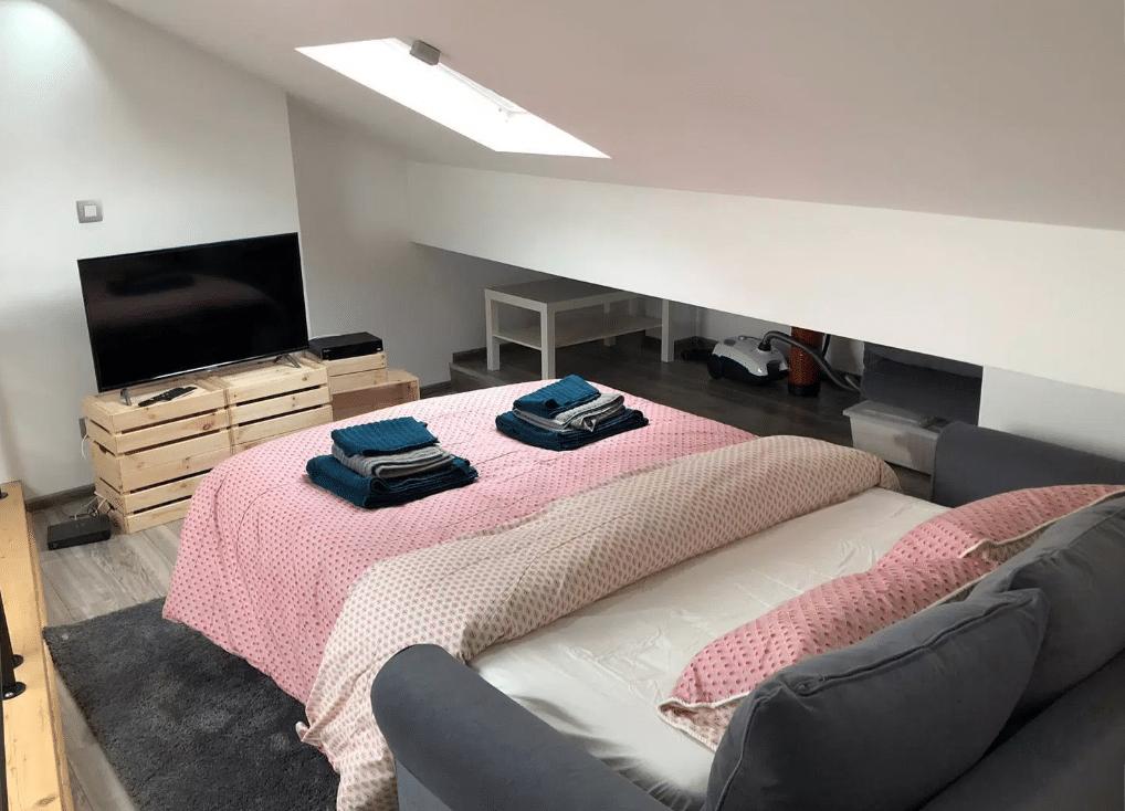 Canapé-lit Ikea