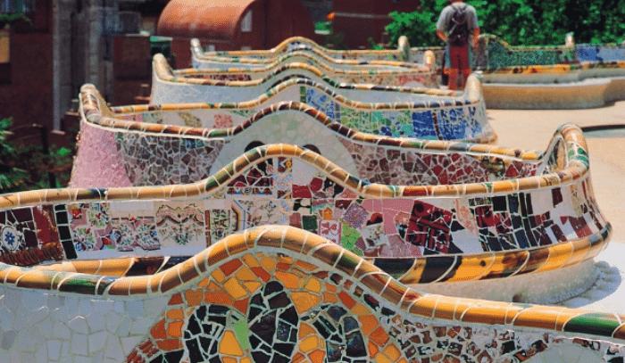 Mosaïque Gaudi