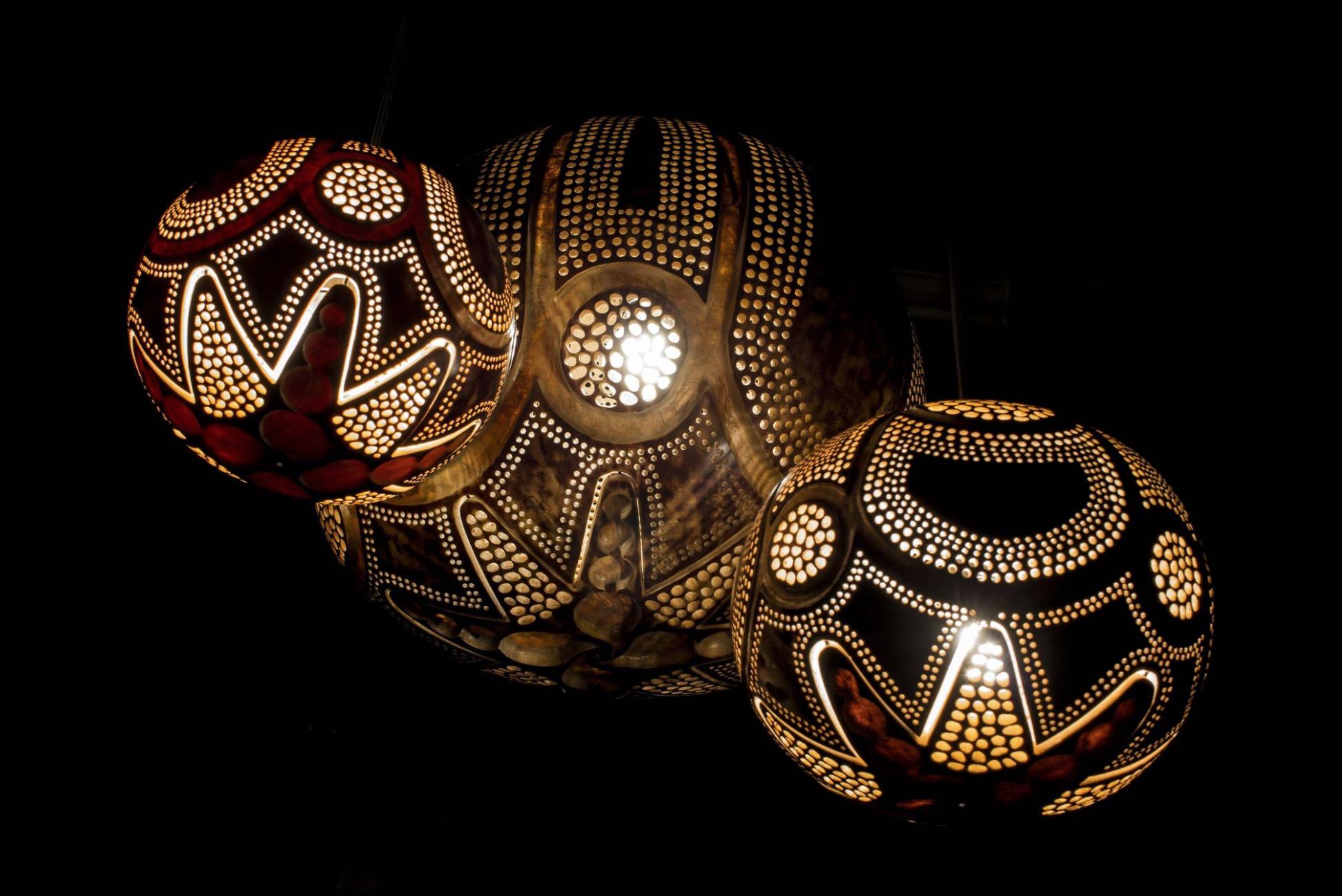 lampe végétale